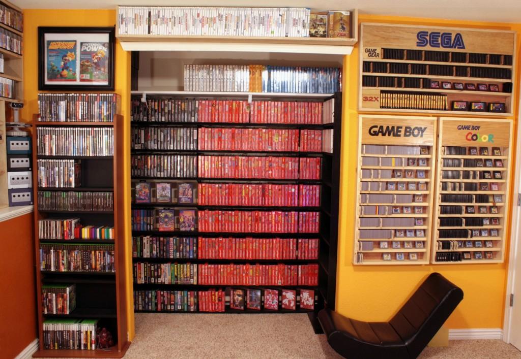 La coleccion de juegos mas impresionante