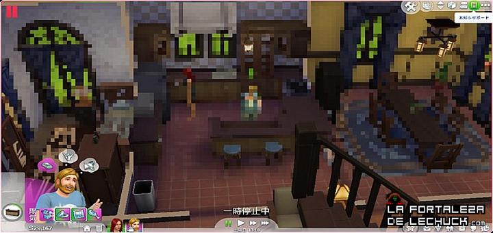 Los-Sims-4-Pirata-pixelado