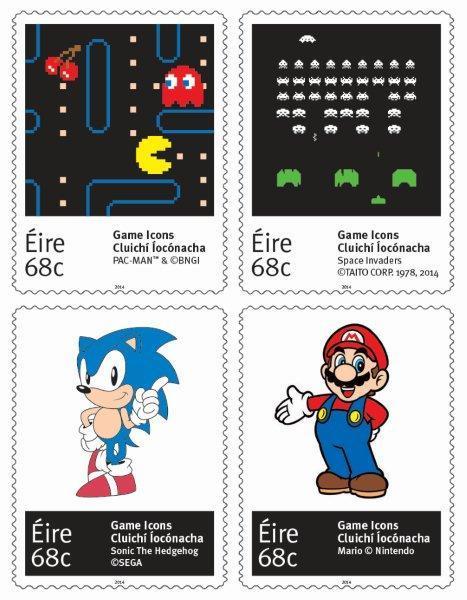 sellos clásicos videojuegos