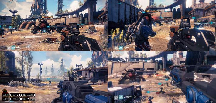 Sony asegura que la pantalla partida mejora mucho Destiny, y será un servicio exclusivo en su versión de PS4