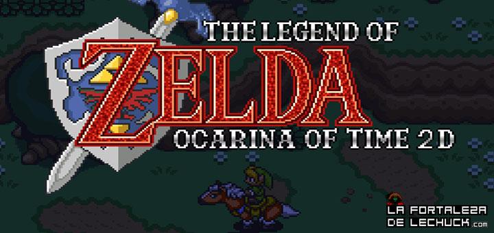 zelda ocarina of time 2D