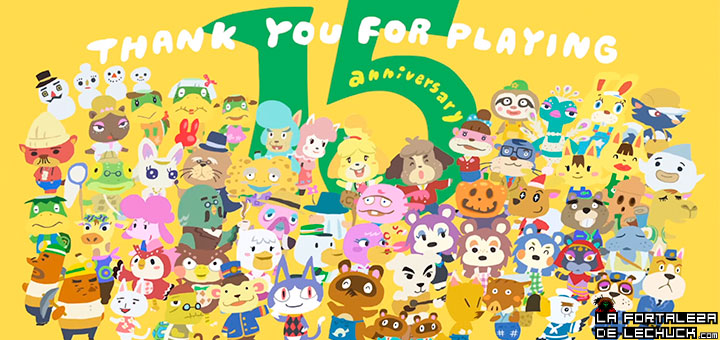 Animal Crossing 15 años
