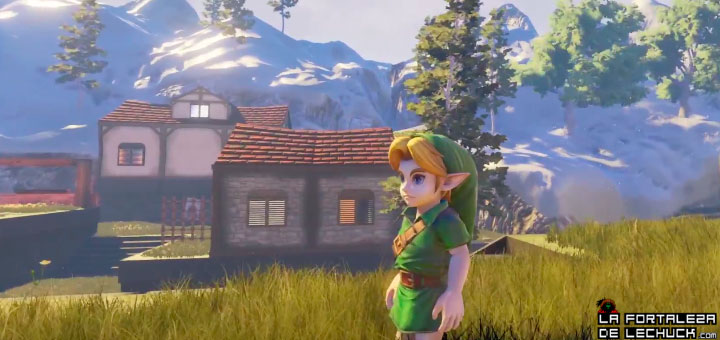 Ocarina of Time Unreal 4