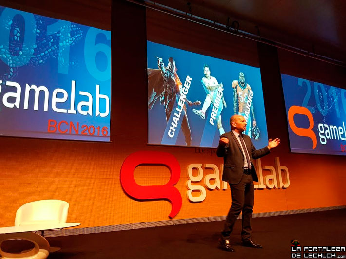 Peter Moore en el Gamelab