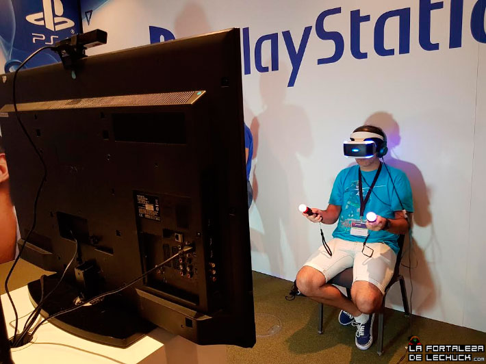 Playstation VR en el Gamelab