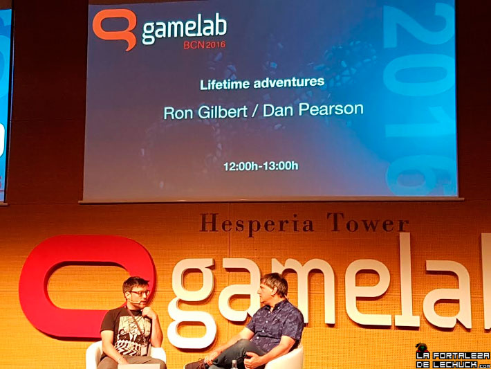 Ron Gilbert en el Gamelab