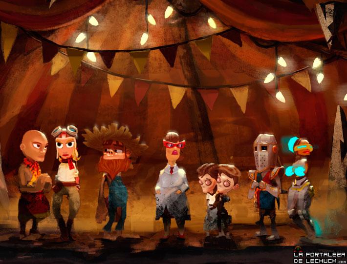 Personajes de The Cave