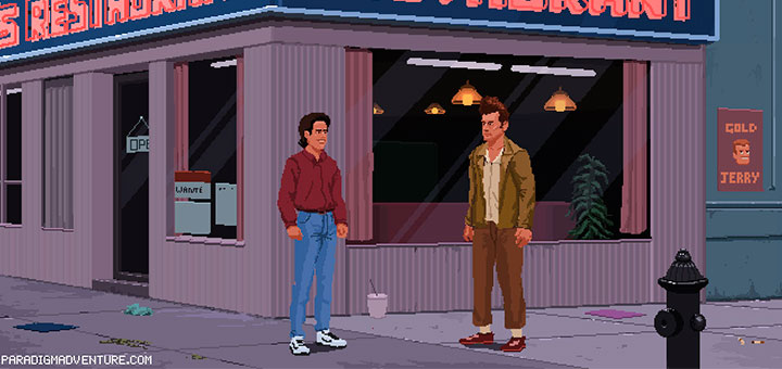 Seinfeld aventura grafica