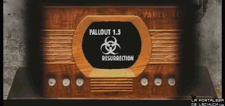 Fallout 1.5: Resurrection mod